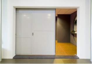 Firelock Sliding Door